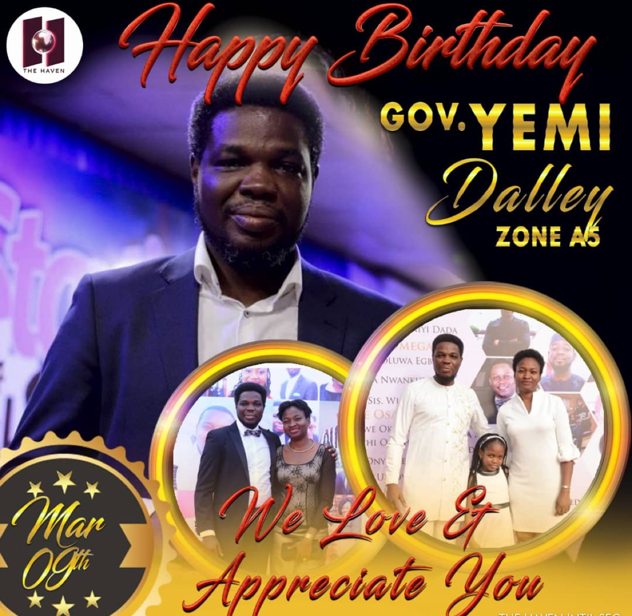 Happy birthday Esteemed Governor Yemi