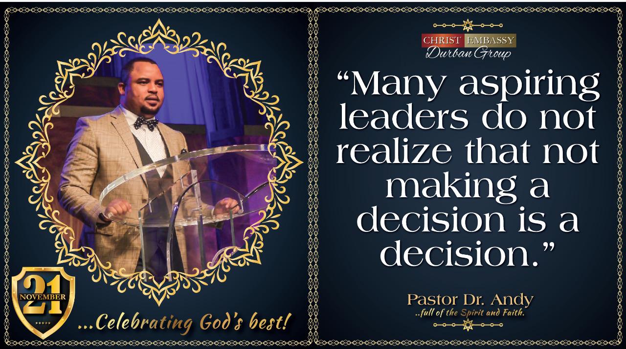 Celebrating greatness, Happy birthday Pastor