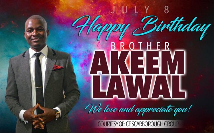 Celebrating MY SON! Bro Akeem