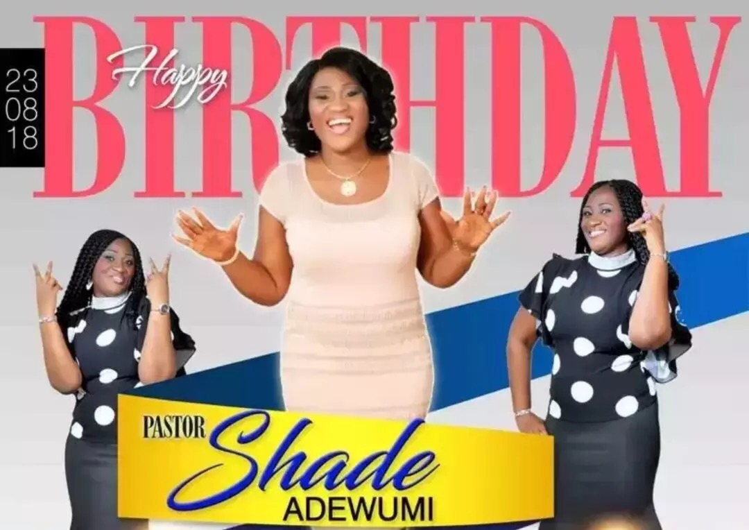 Happy happy birthday Pastor Ma.