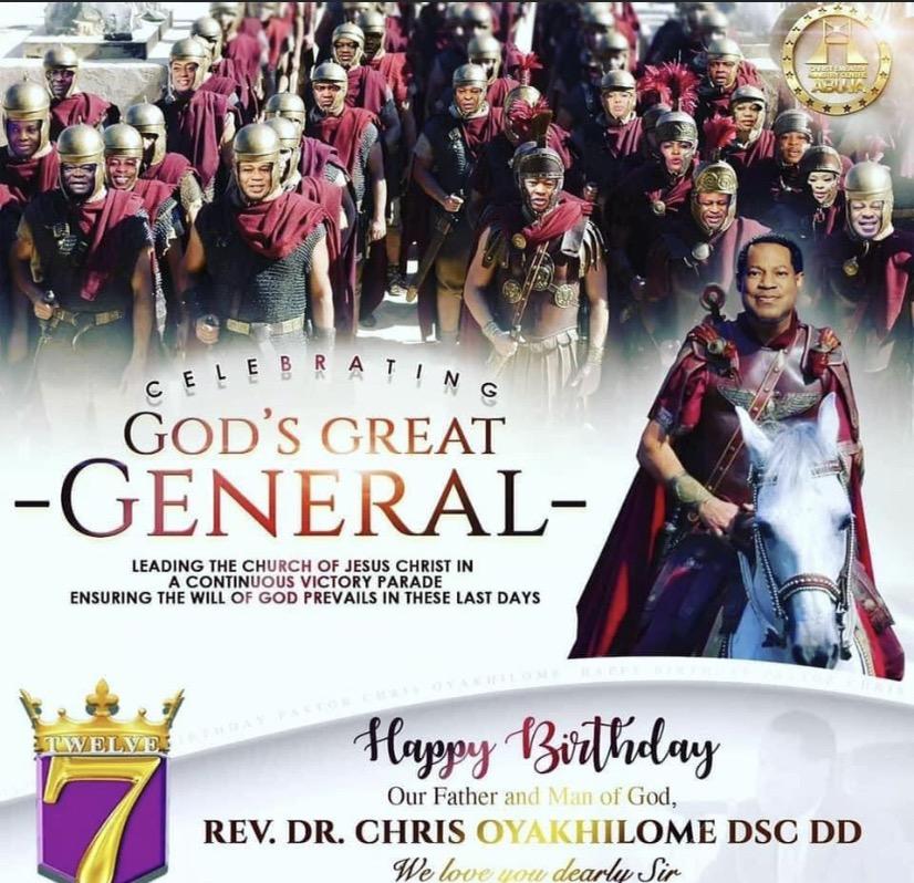 Happy Birthday Dad! Pastor Chris