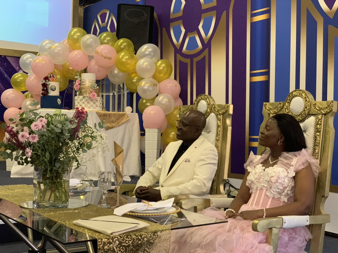 Celebrating the Esteemed Pastor Joyline