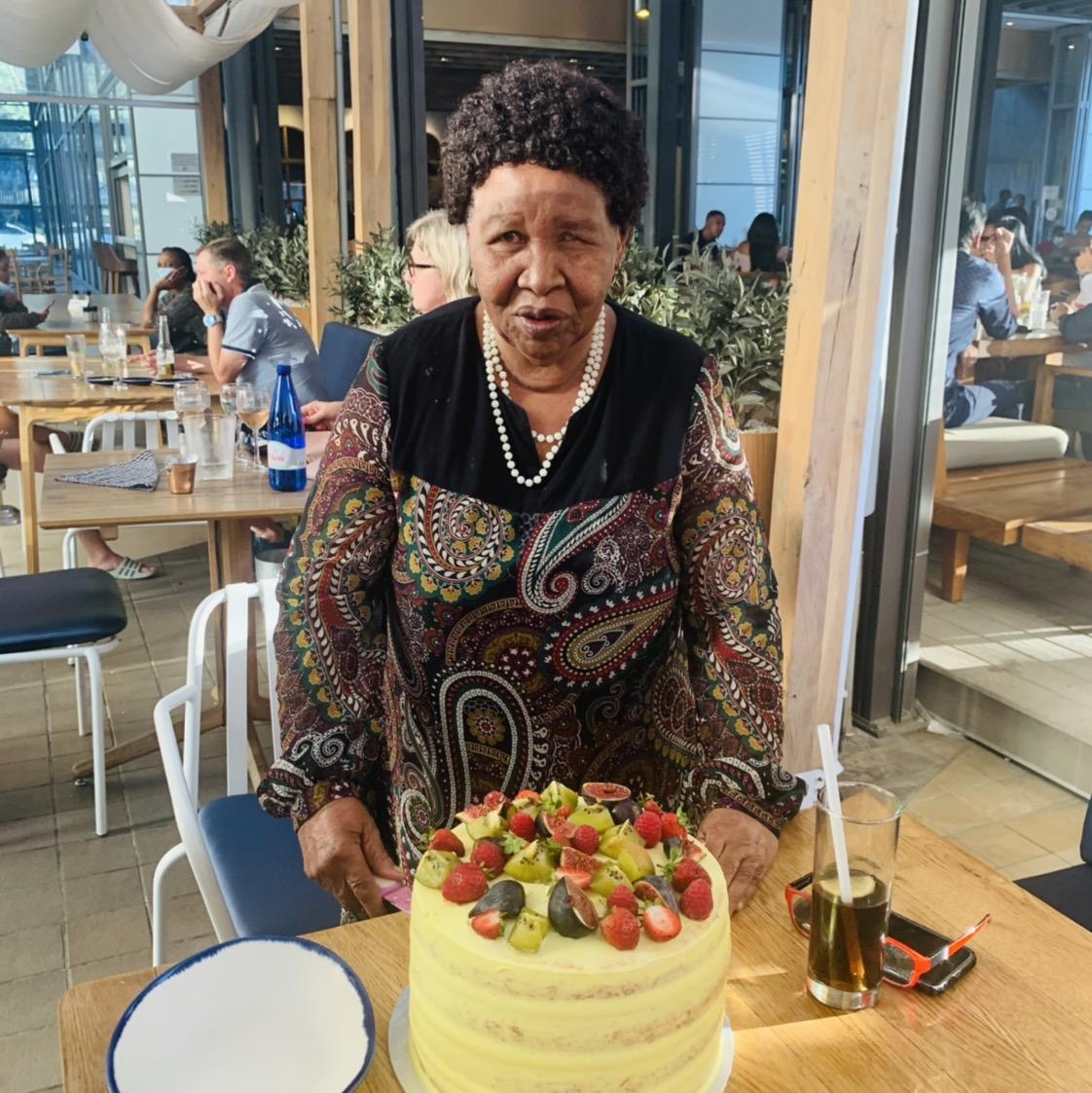 Happiest Birthday Mama Johanna. A