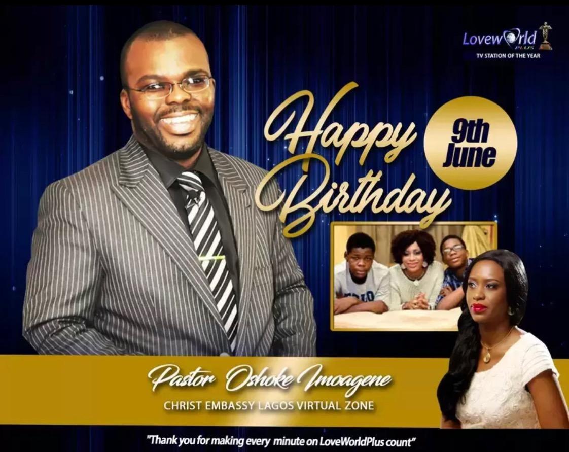 Celebrating the Esteemed Pastor Oshoke