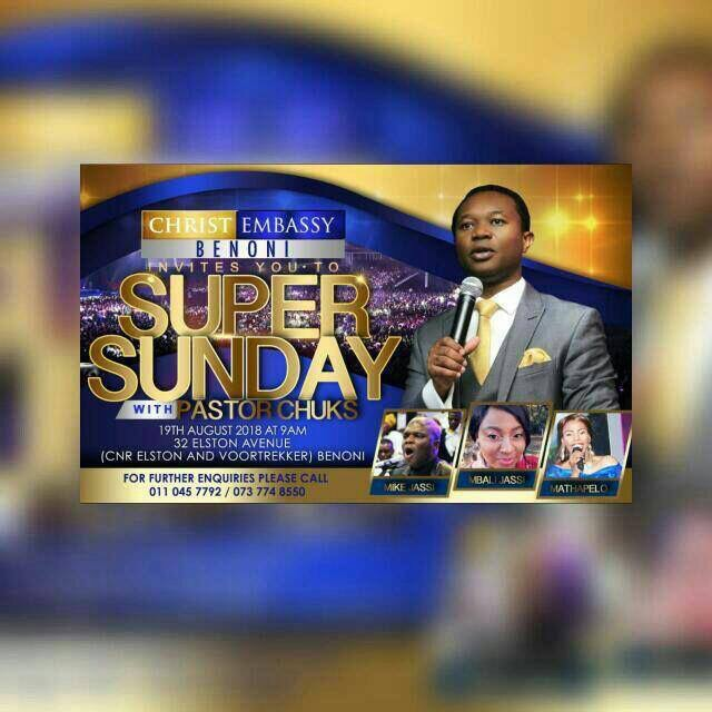Supernatural Super Sunday. I will