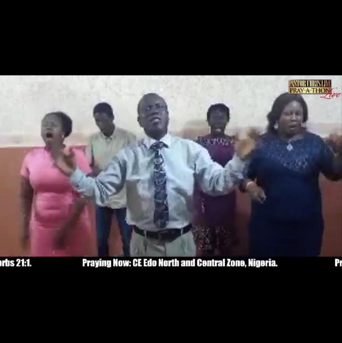 STILL ON PRAYATHON with Pastor