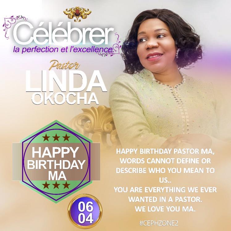 Happy perfected birthday pastor ma