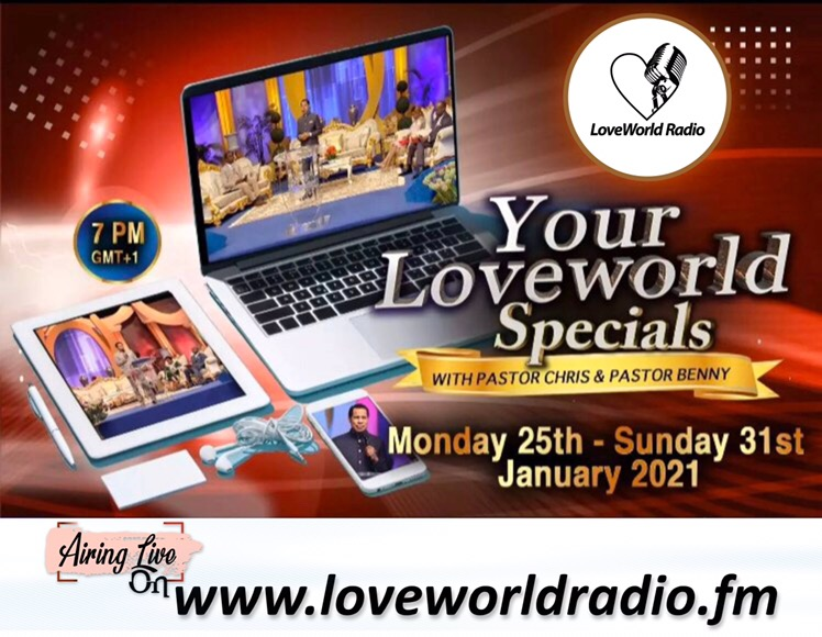 Listen To Your LoveWorld Specials