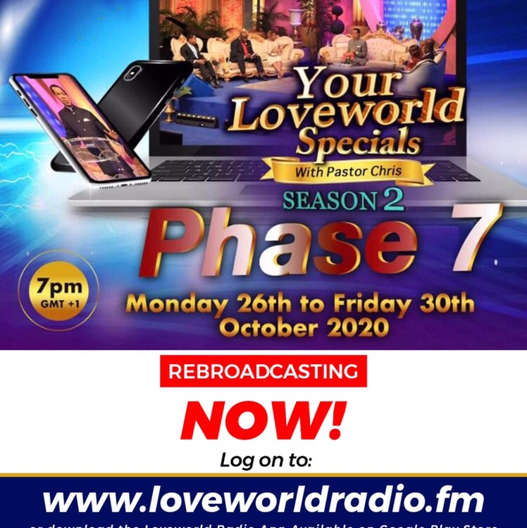 Happening Now on LoveWorld Radio
