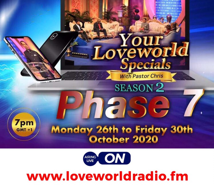 Participate In Your LoveWorld Specials