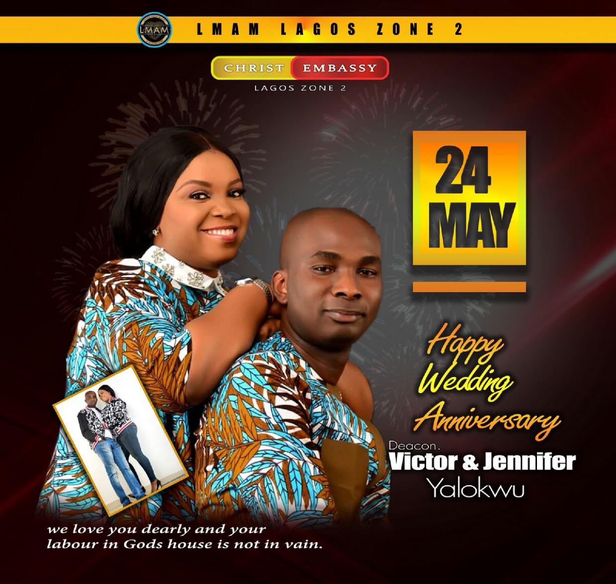 Happy Anniversary Dcn Victor &