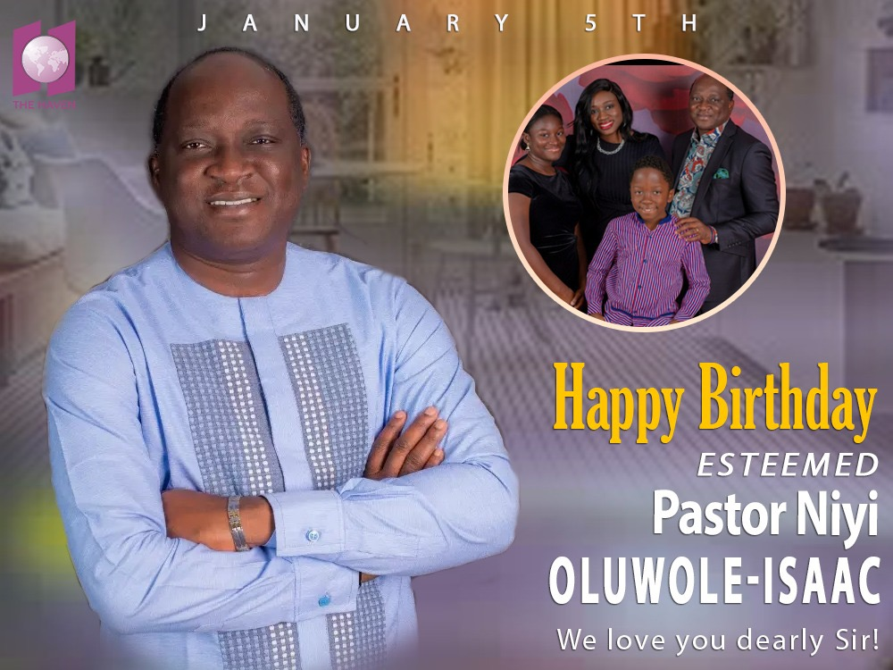 Célébration de l'estime pasteur Niyi