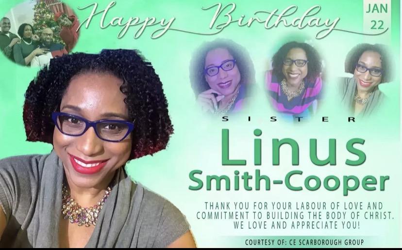 Happy birthday darling Sis Linus!