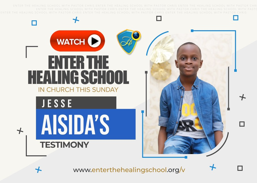 ENTER THE HEALING SCHOOL WITH