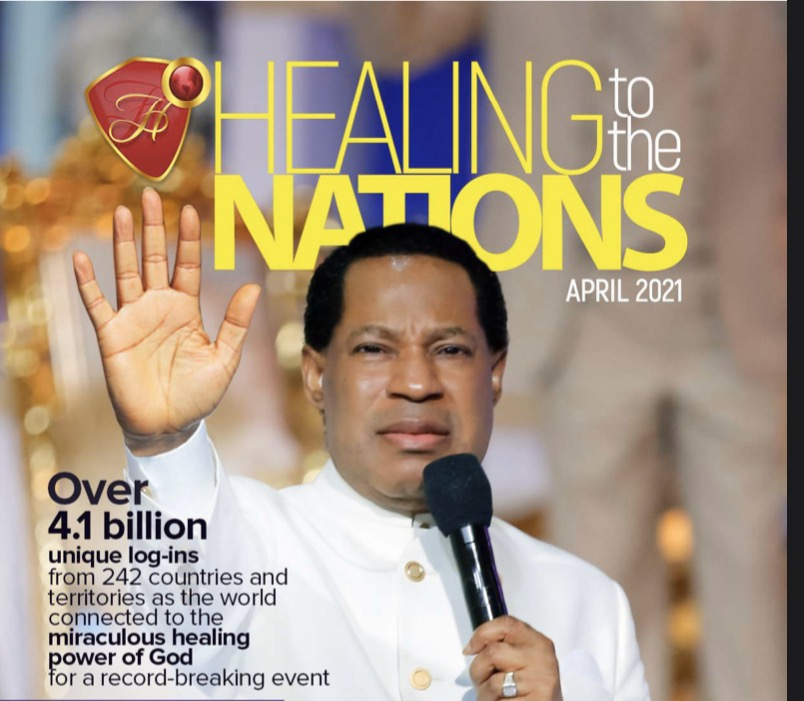 APRIL HEALING TO THE NATIONS