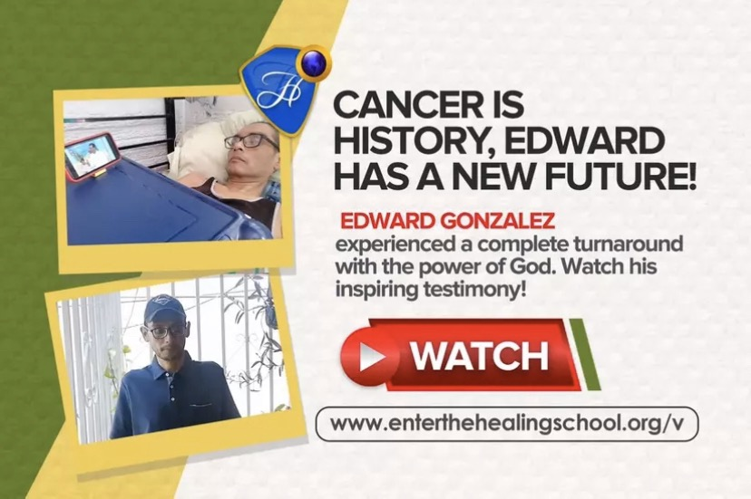 CANCER IS HISTORY! - EDWARD