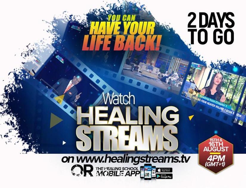 2 DAYS TO GO: HEALING