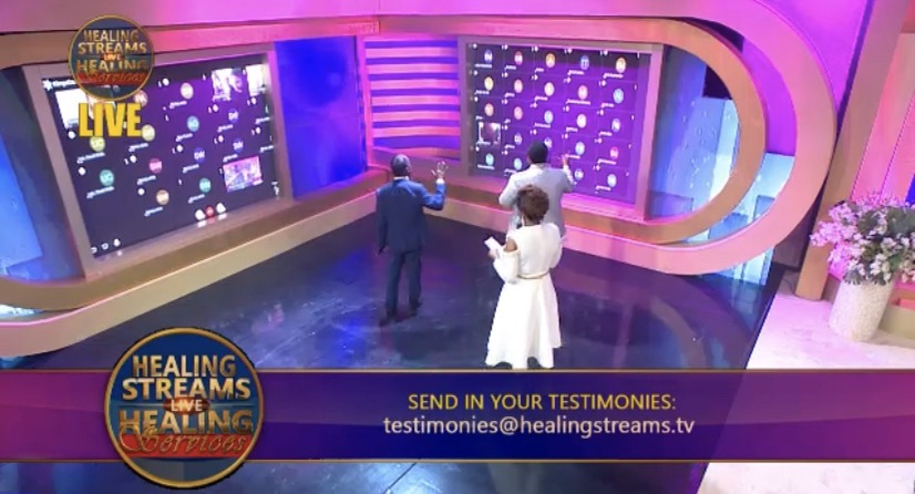 HEALING STREAMS LIVE HEALING SERVICES,