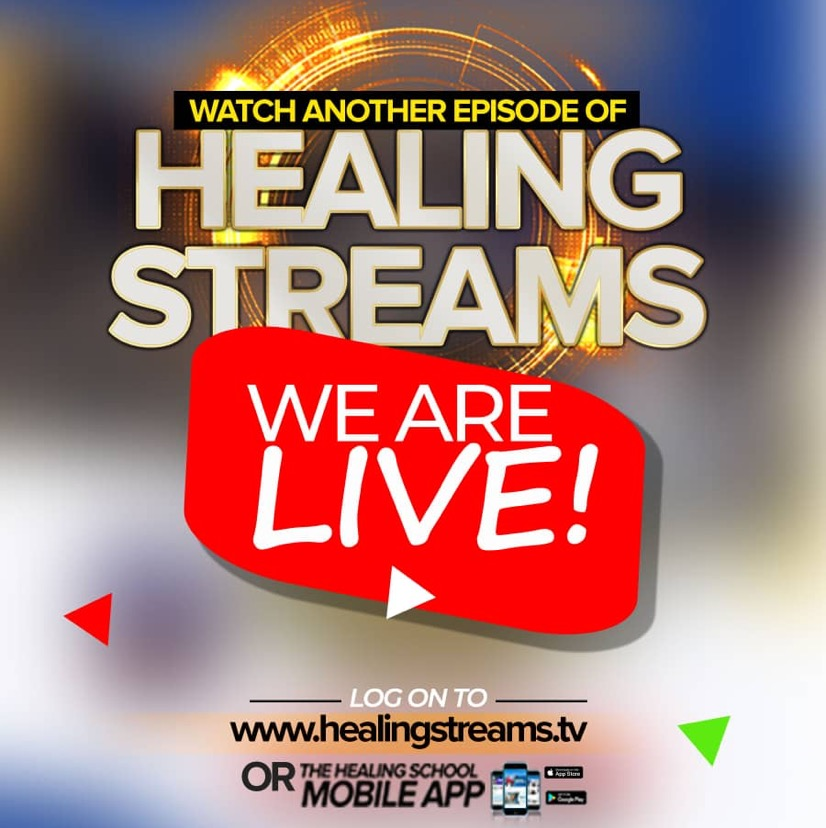 WE ARE LIVE: HEALING STREAMS