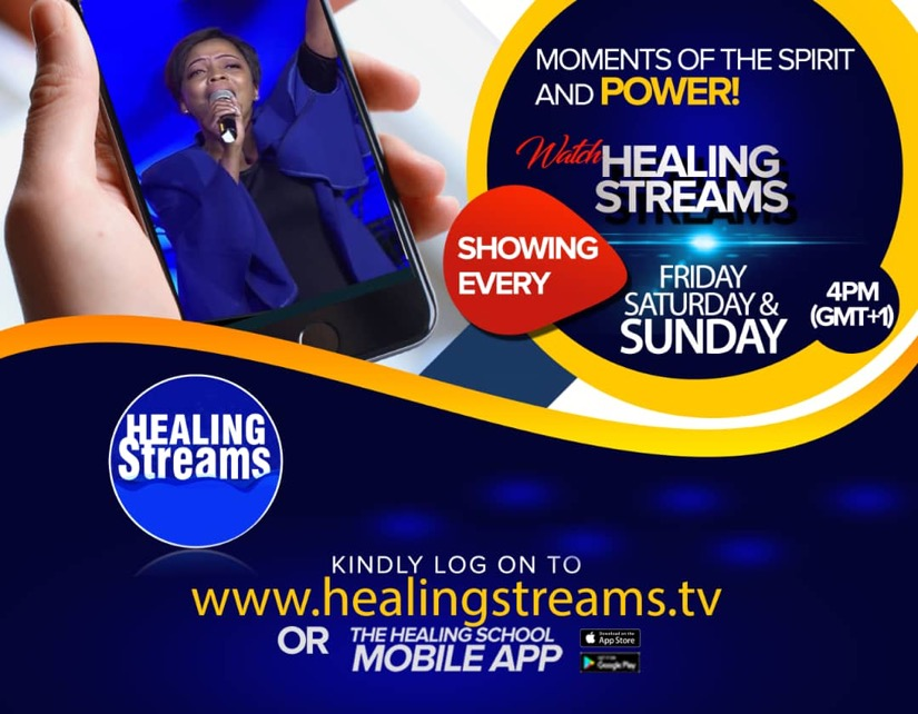 HAPPENING TODAY: HEALINGSTREAMS.TV Connect 👉www.h