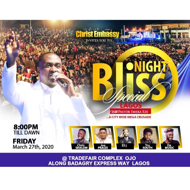 Night of Bliss special Lagos