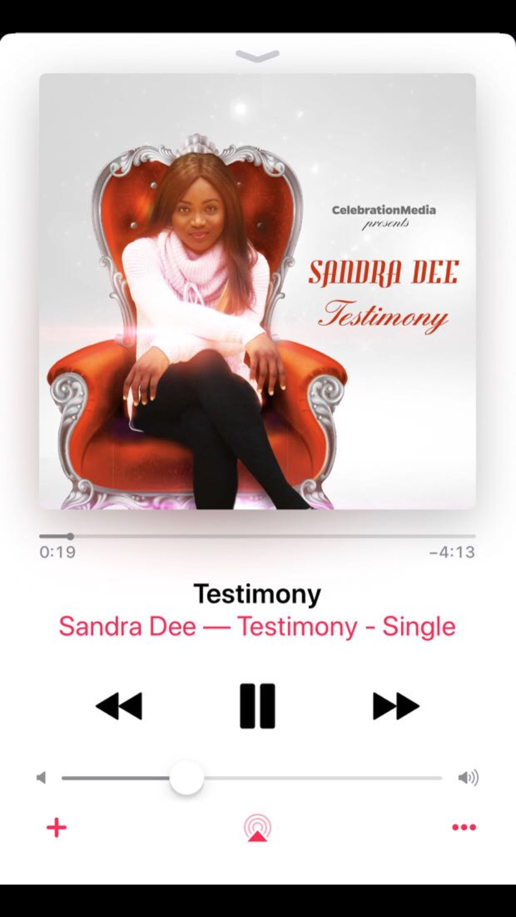*Testimony* by SandraDee out NOW
