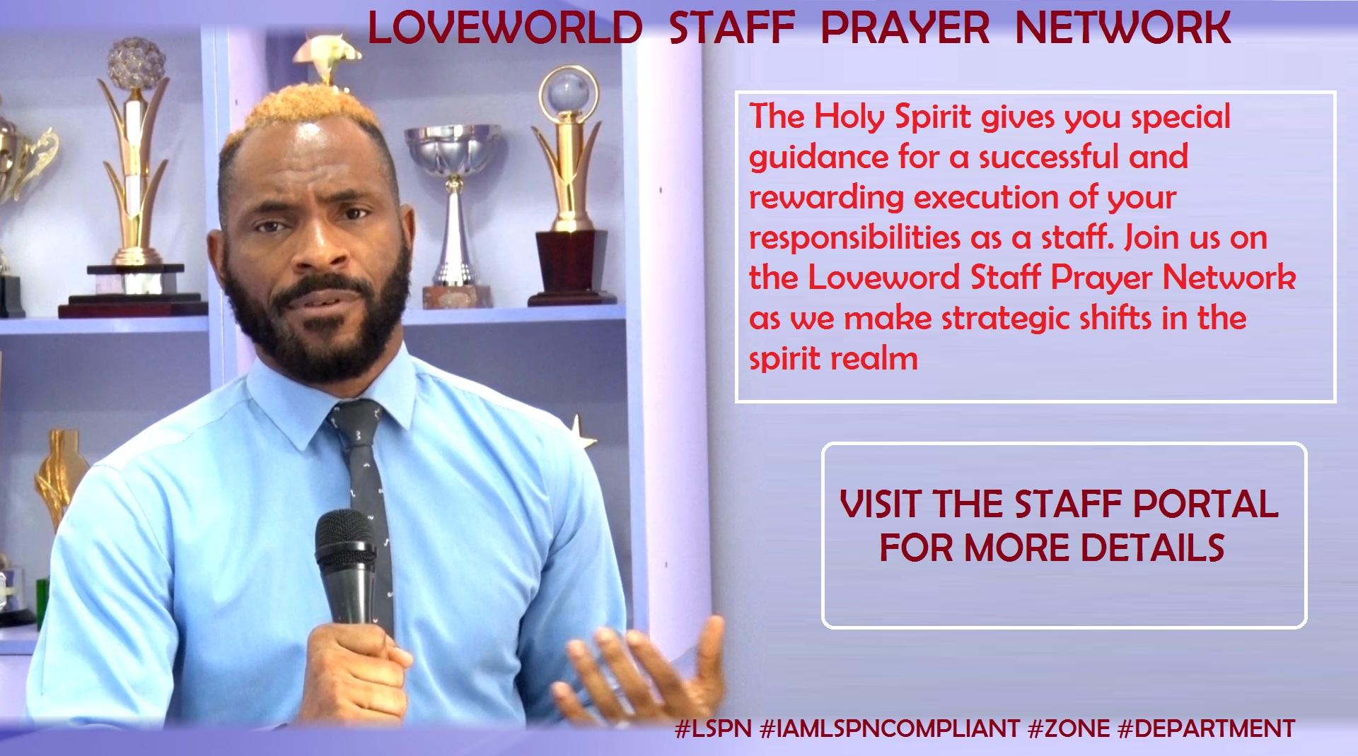 When you pray, the Spirit