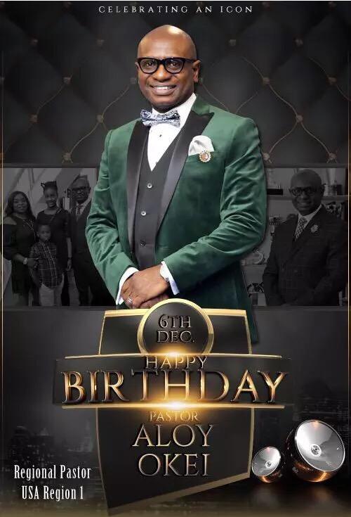 Happy Birthday Pastor! 💕