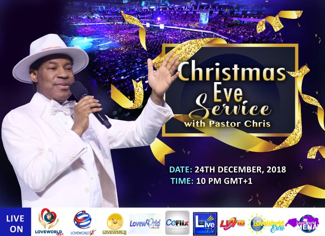 Watch the Christmas EveService with