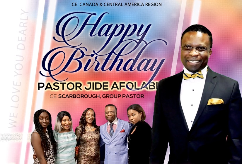 Happy Birthday esteemed Pastor Jide,
