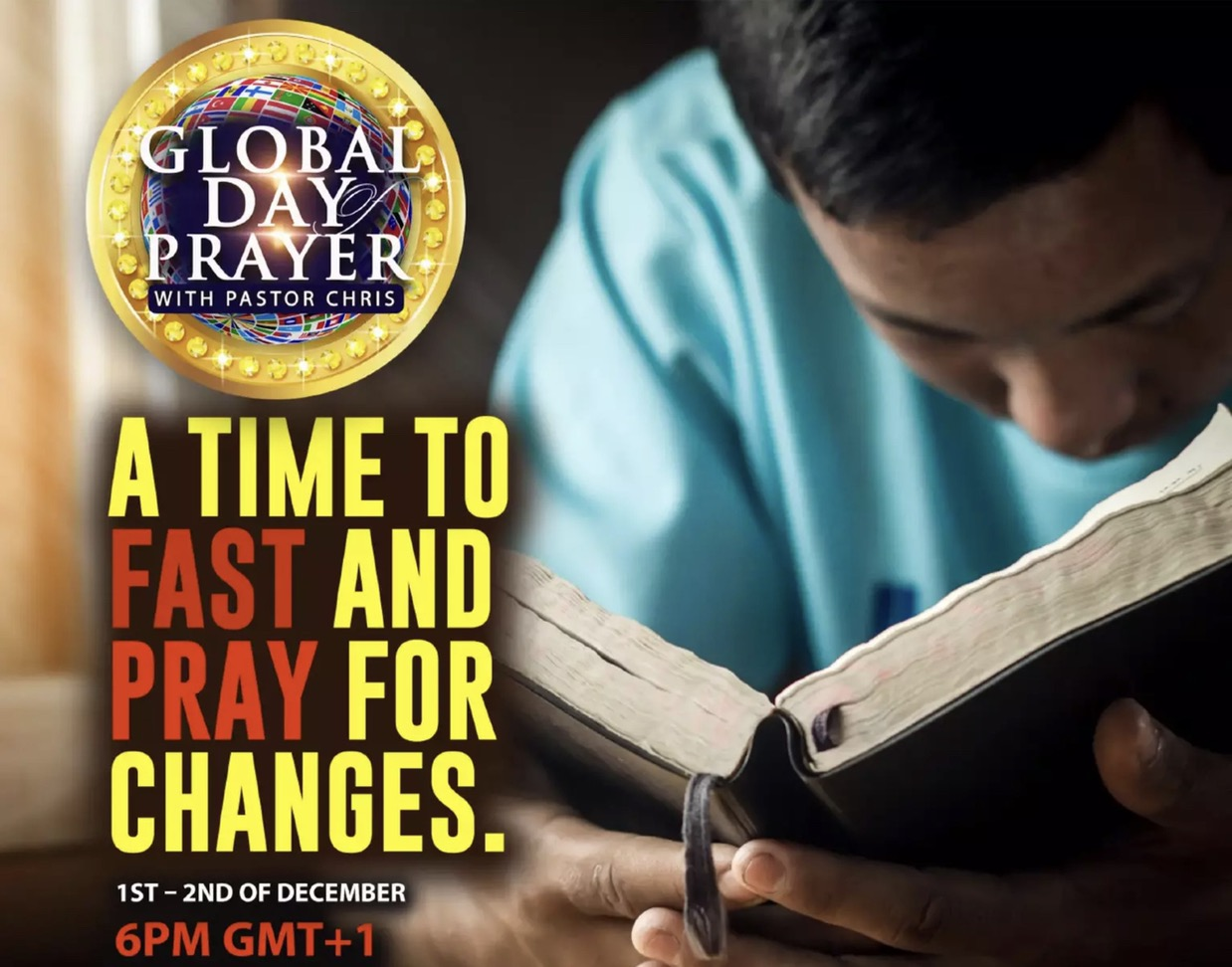💥GLOBAL DAY OF PRAYER DECEMBER