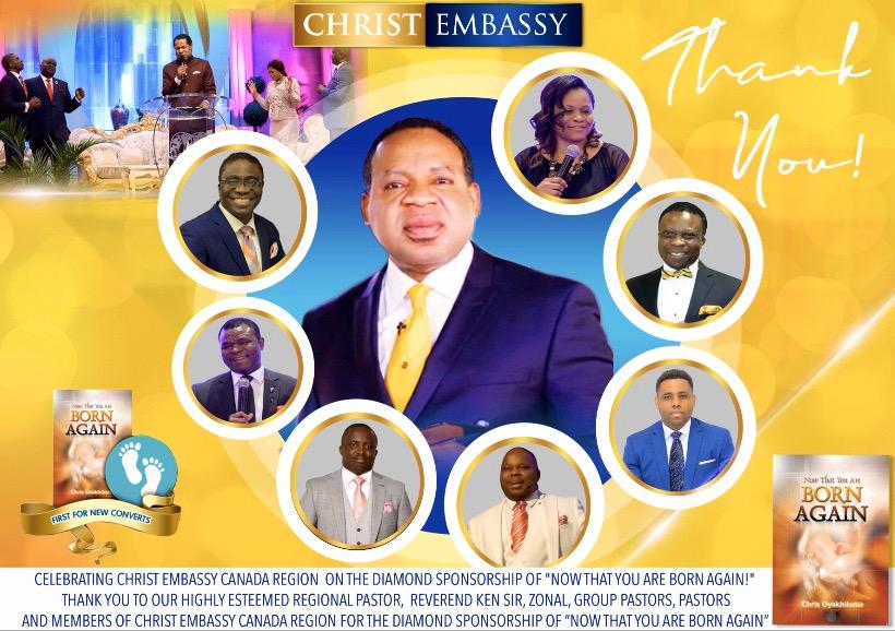 💥CELEBRATING CHRIST EMBASSY CANADA REGION