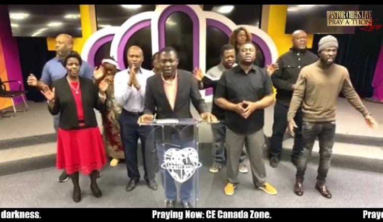 💥CE CANADA PRAYING LIVE ON
