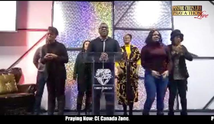 💥CE CANADA PRAYING LIVE ON