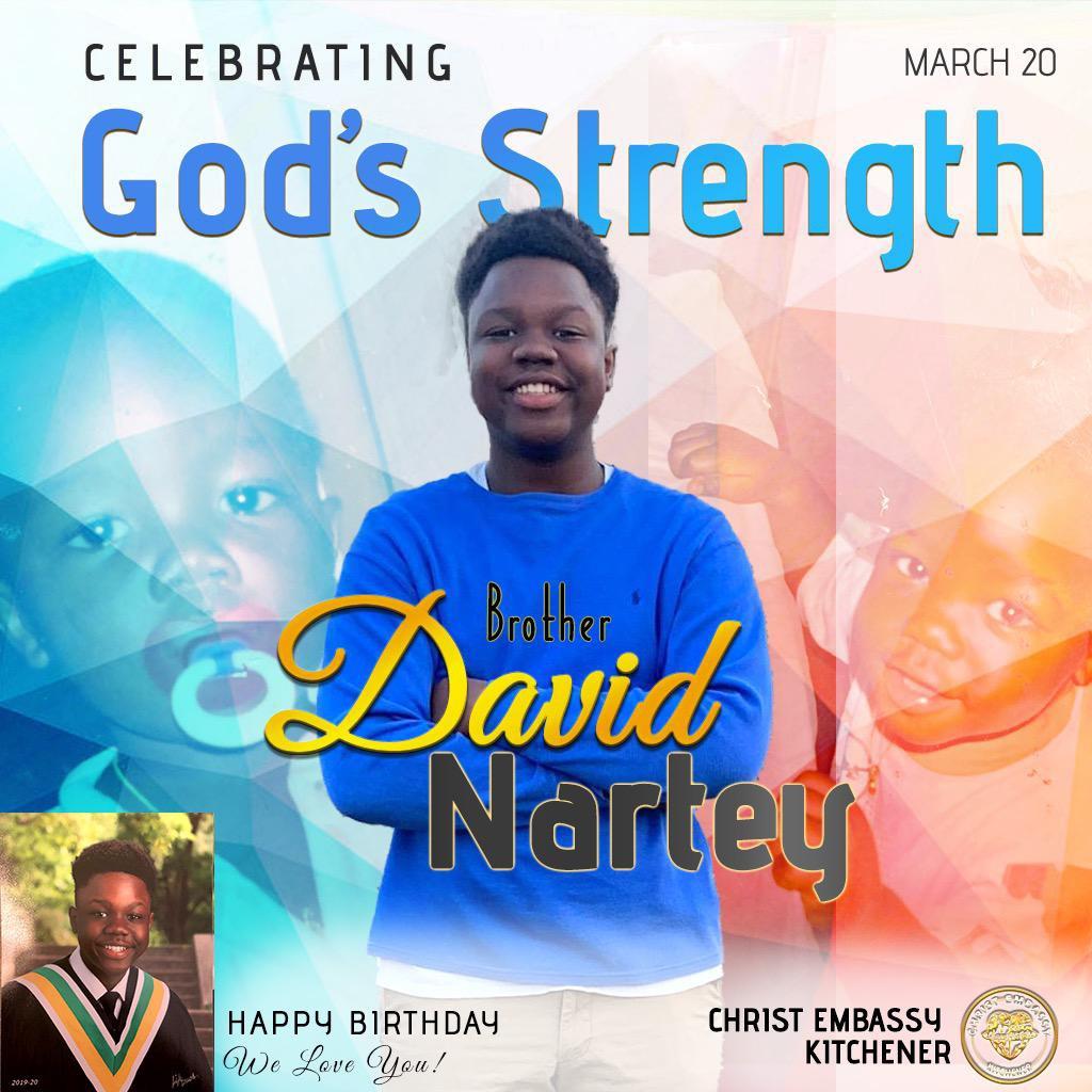 Happy birthday David. Keep winning