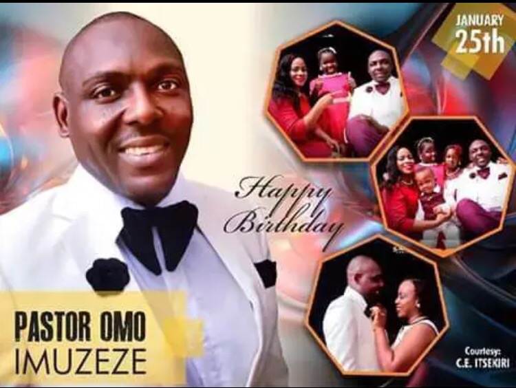 Happy Birthday Esteemed Pastor Omo