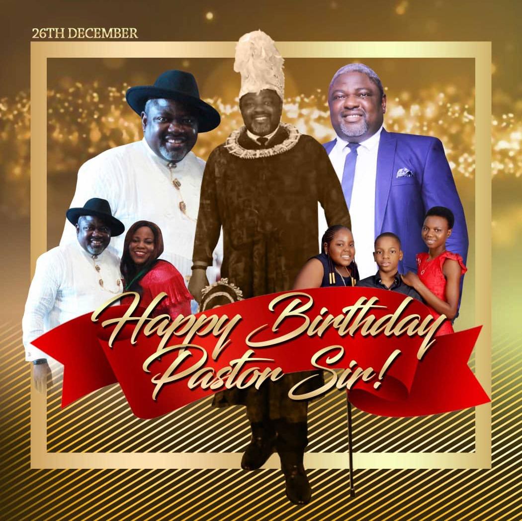 Happy Birthday to my highly