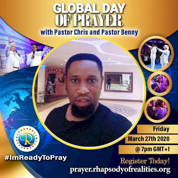 As we pray , we