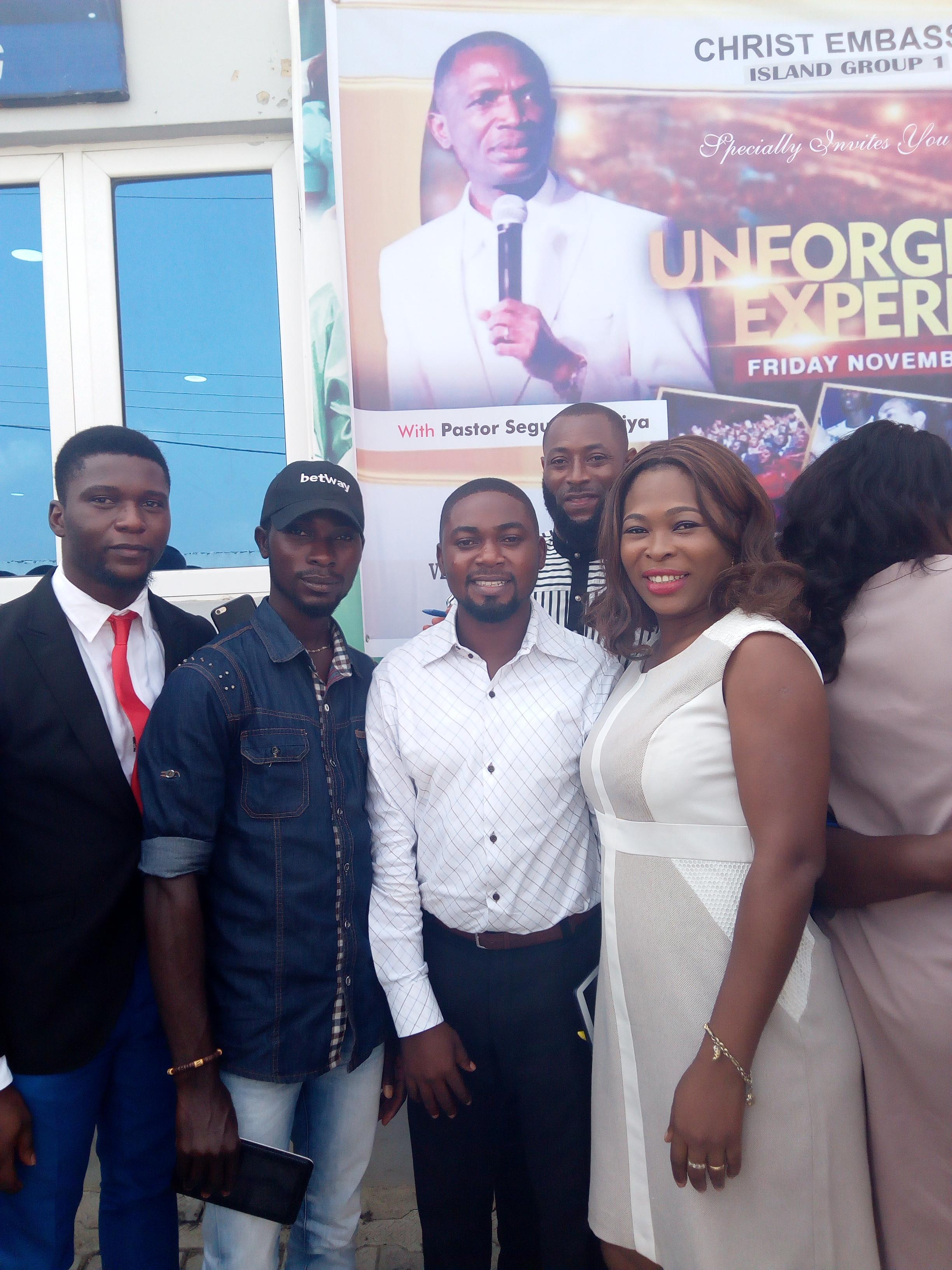 #UnforgetableExperience#Islandgoup1#CEAjiwe#LagosZ