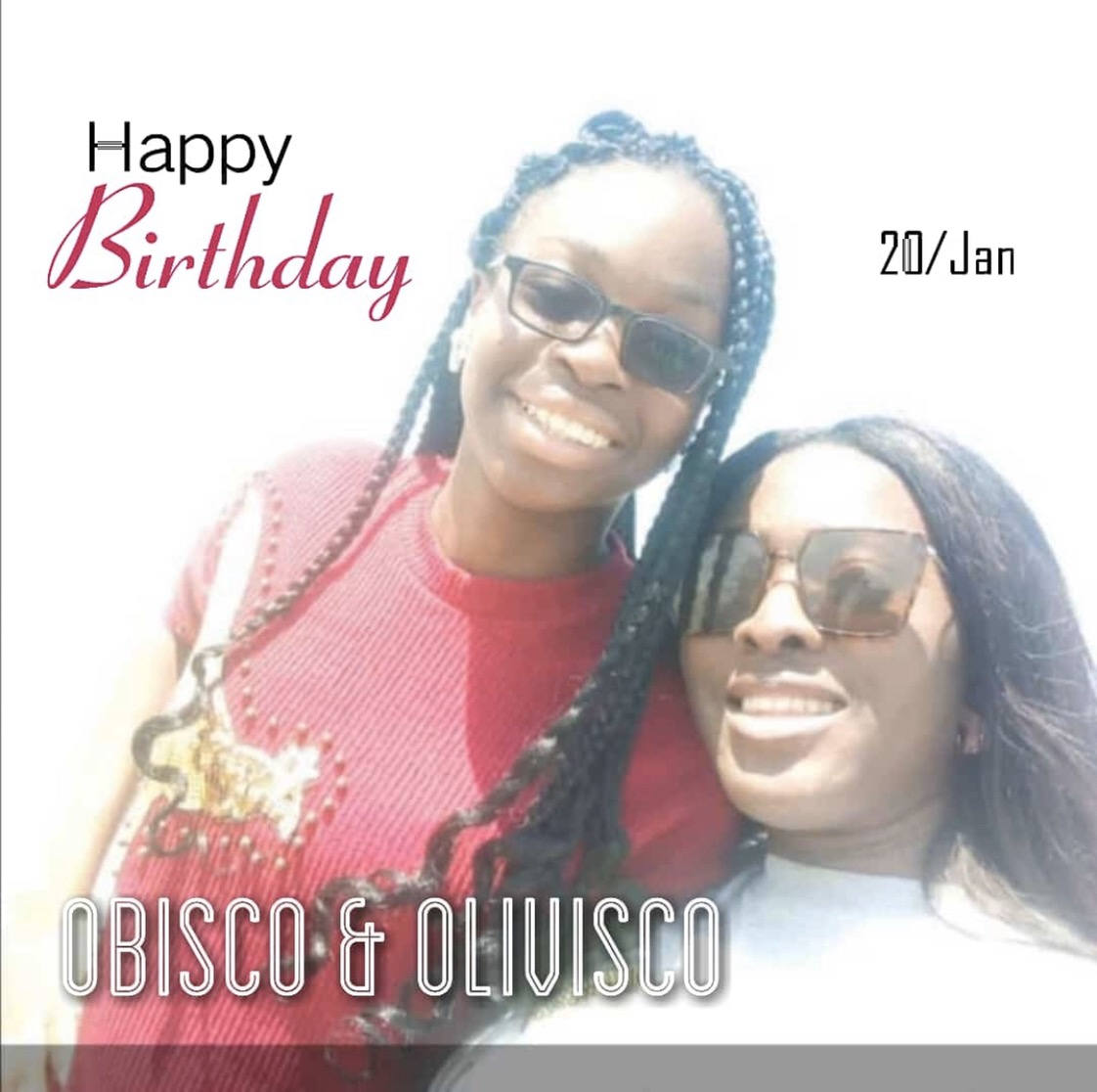Happy birthday to my girlssss