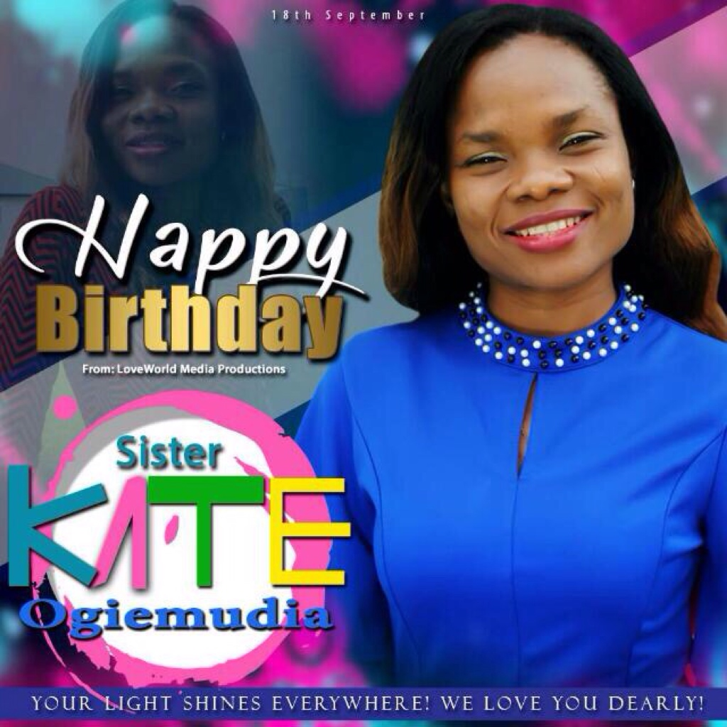 HBD Sis Kate of the