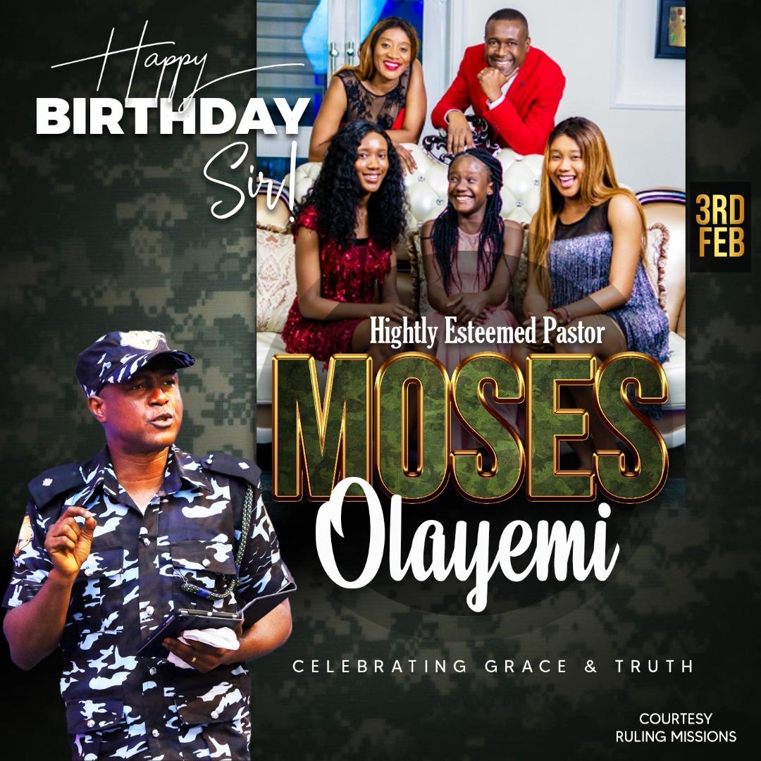Happy Birthday Esteemed Pastor Sir