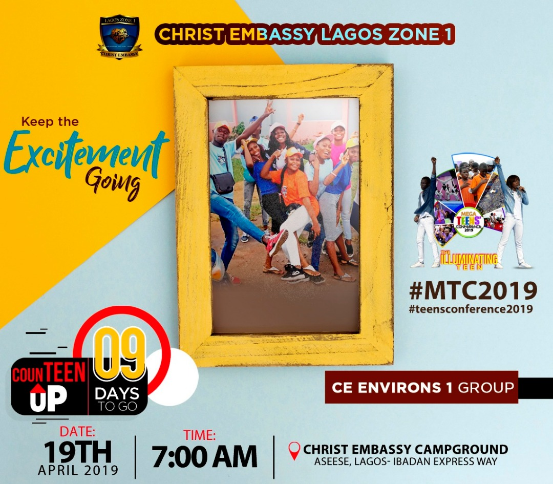 Plan to be there #megateensconference2019