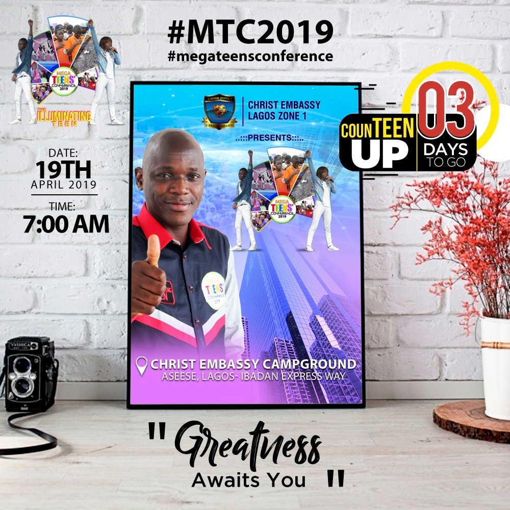 greatness unveiled #megateensconference2019 #Expr