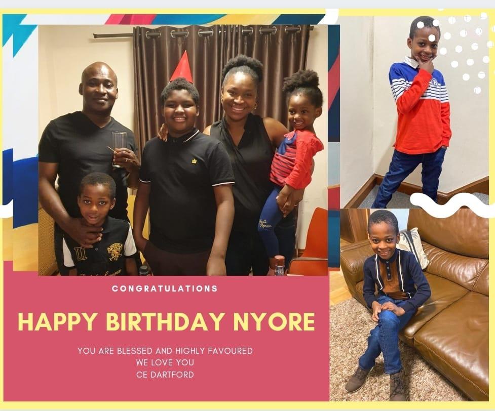 Happy Birthday Dearest Nyore! You