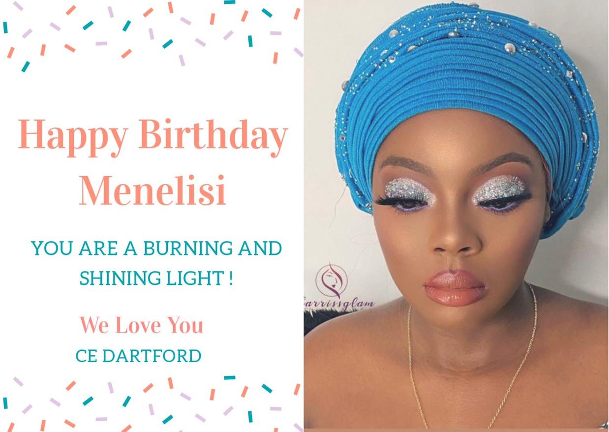 Happy Birthday Dearest Sis Menelisi!