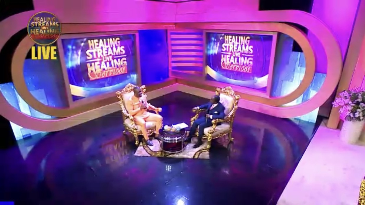Happening Now! Healing Streams live