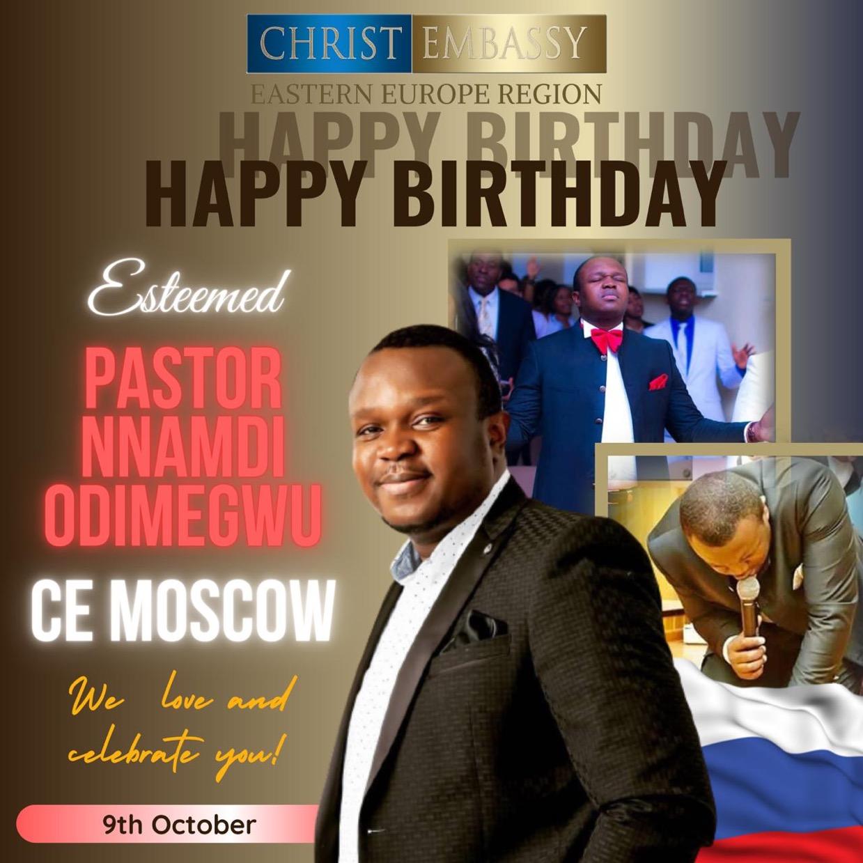Happy perfect birthday esteemed Pastor