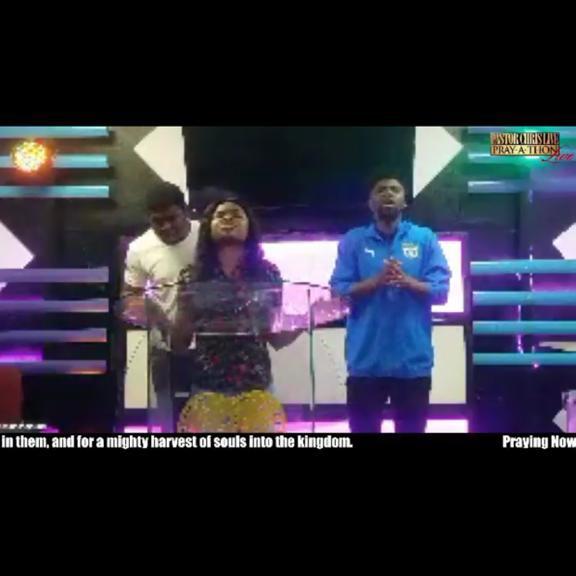 PASTOR CHRIS LIVE PRAY-A-THON 1