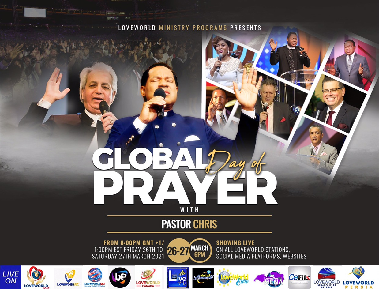 GLOBAL DAY OF PRAYER WITH